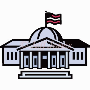 Clip Art Government Building Clipart.