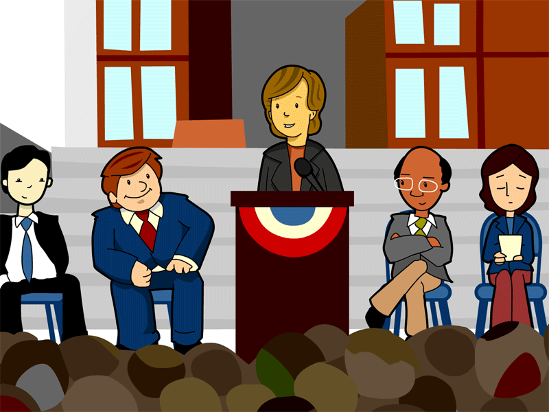 Government Officials Clipart.