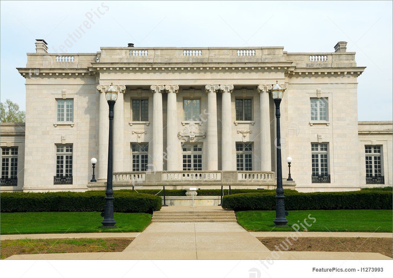 Picture Of Governors Mansion In Frankfort Kentucky.