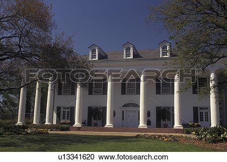 Stock Photography of Baton Rouge, LA, Louisiana, Governor's.