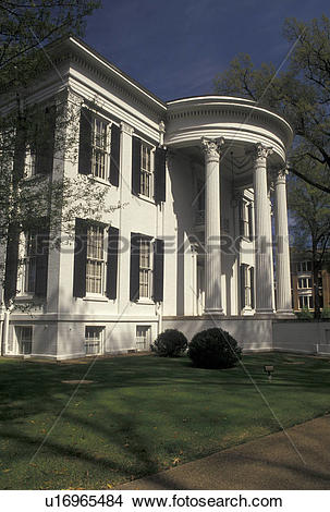 Stock Photo of Jackson, Mississippi, MS, Governor's Mansion a.