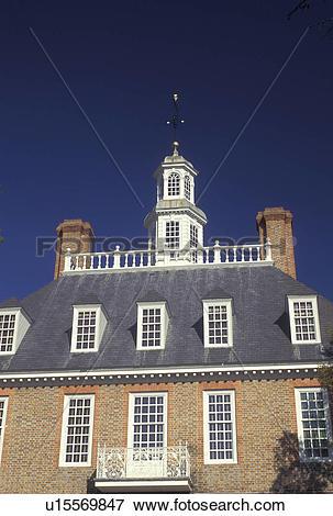 Picture of Williamsburg, VA, Colonial Williamsburg, Virginia.