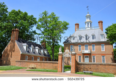 Governors Palace Stock Photos, Royalty.