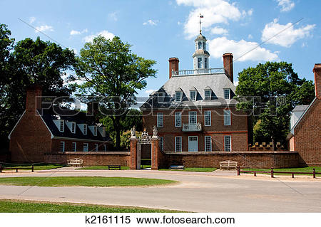 Stock Image of Governor's Palace k2161115.