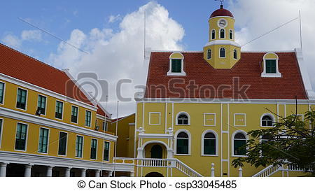 Pictures of Governor's Palace in Curacao.