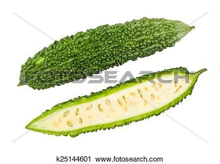 Stock Photography of Goya, Okinawa bitter melon k25144601.