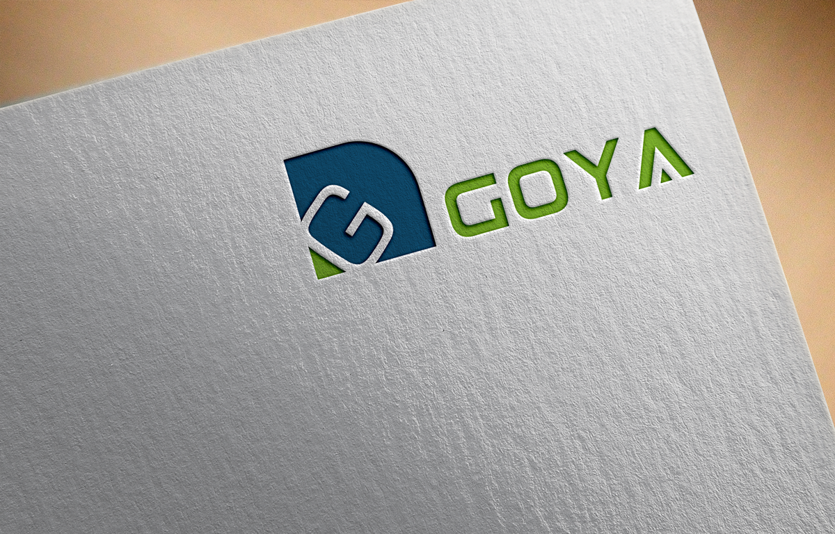 Bold, Modern Logo Design for Goya by Art Ross.