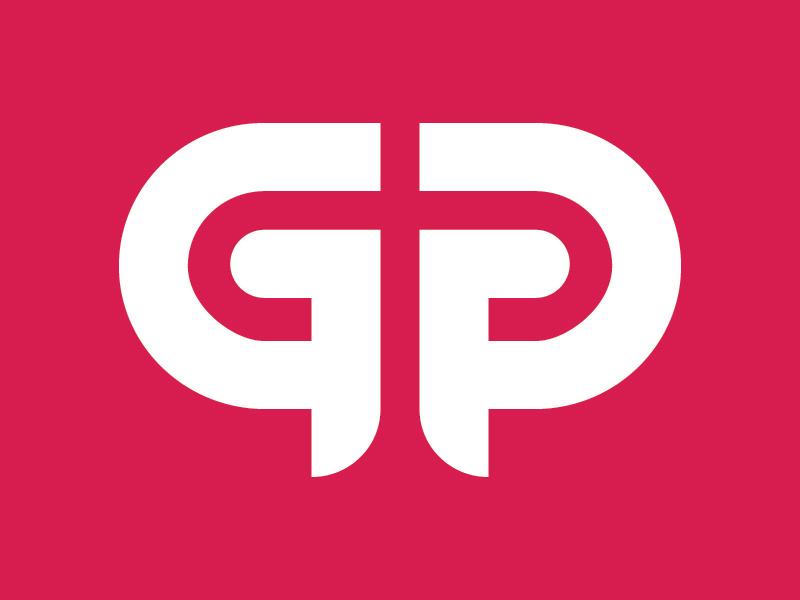 GP Monogram Logo by Kevin Greene on Dribbble.