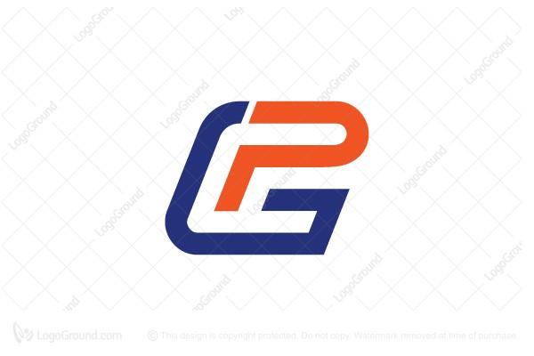 Exclusive Logo 126140, Letter Gp Or Pg Monogram Logo.