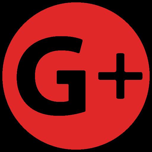 G+, google plus icon.
