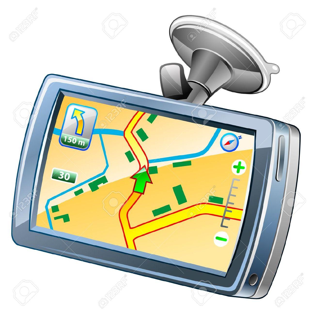 GPS Clip Art Free.