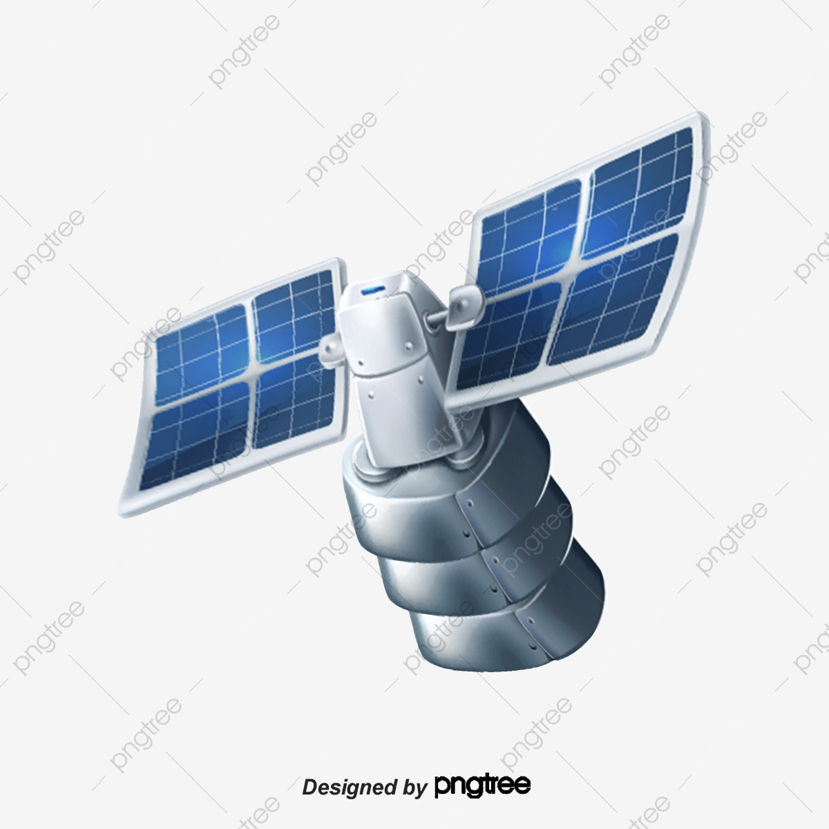 Gps Satellite Positioning To Pull Material Free, Gps Positioning.