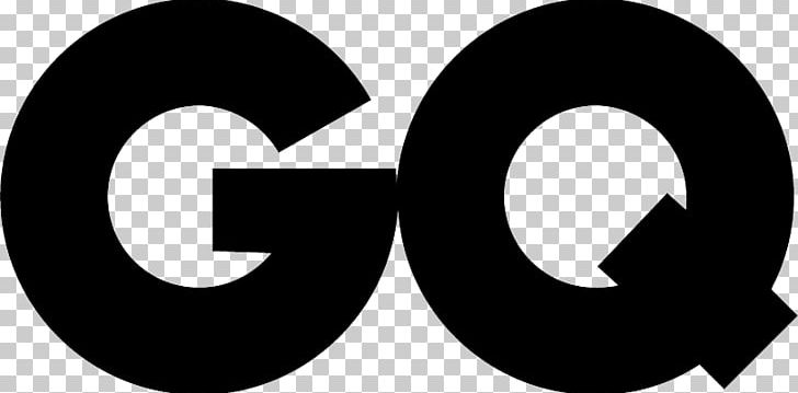 GQ Logo Magazine PNG, Clipart, Black And White, Brand.