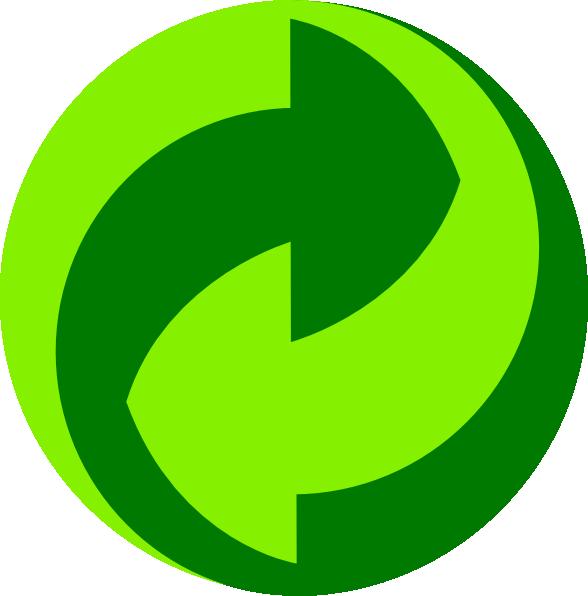 Green Dot Gruener Punkt Clip Art at Clker.com.