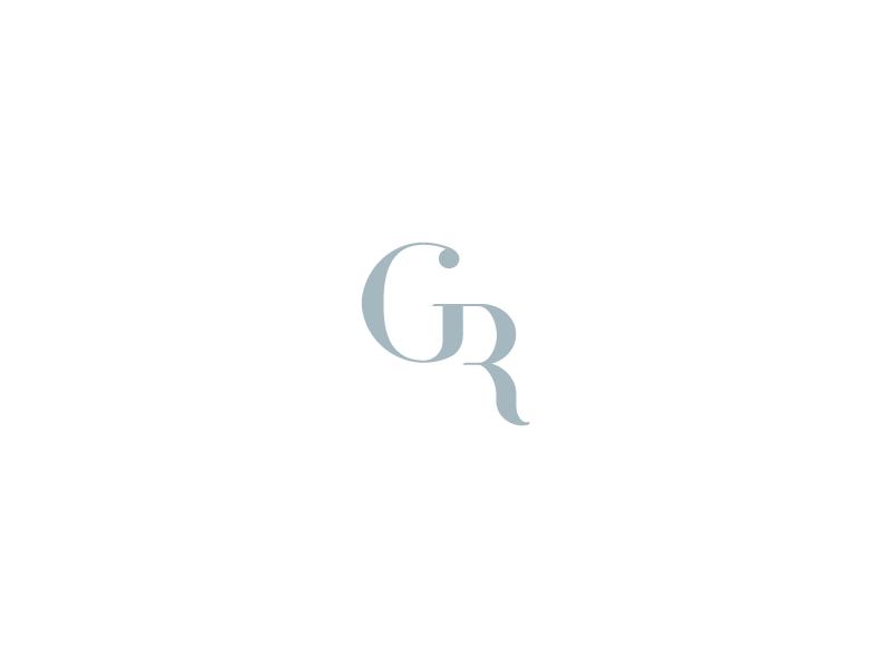 Abstract GR monogram by Insigniada.