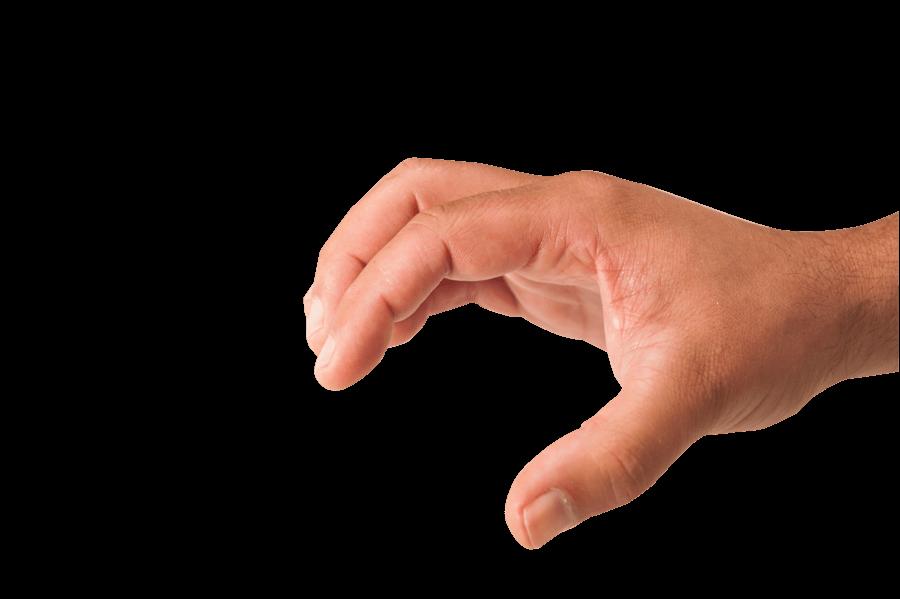 Grabbing Hand transparent PNG.