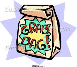 Grab Bag Clipart.