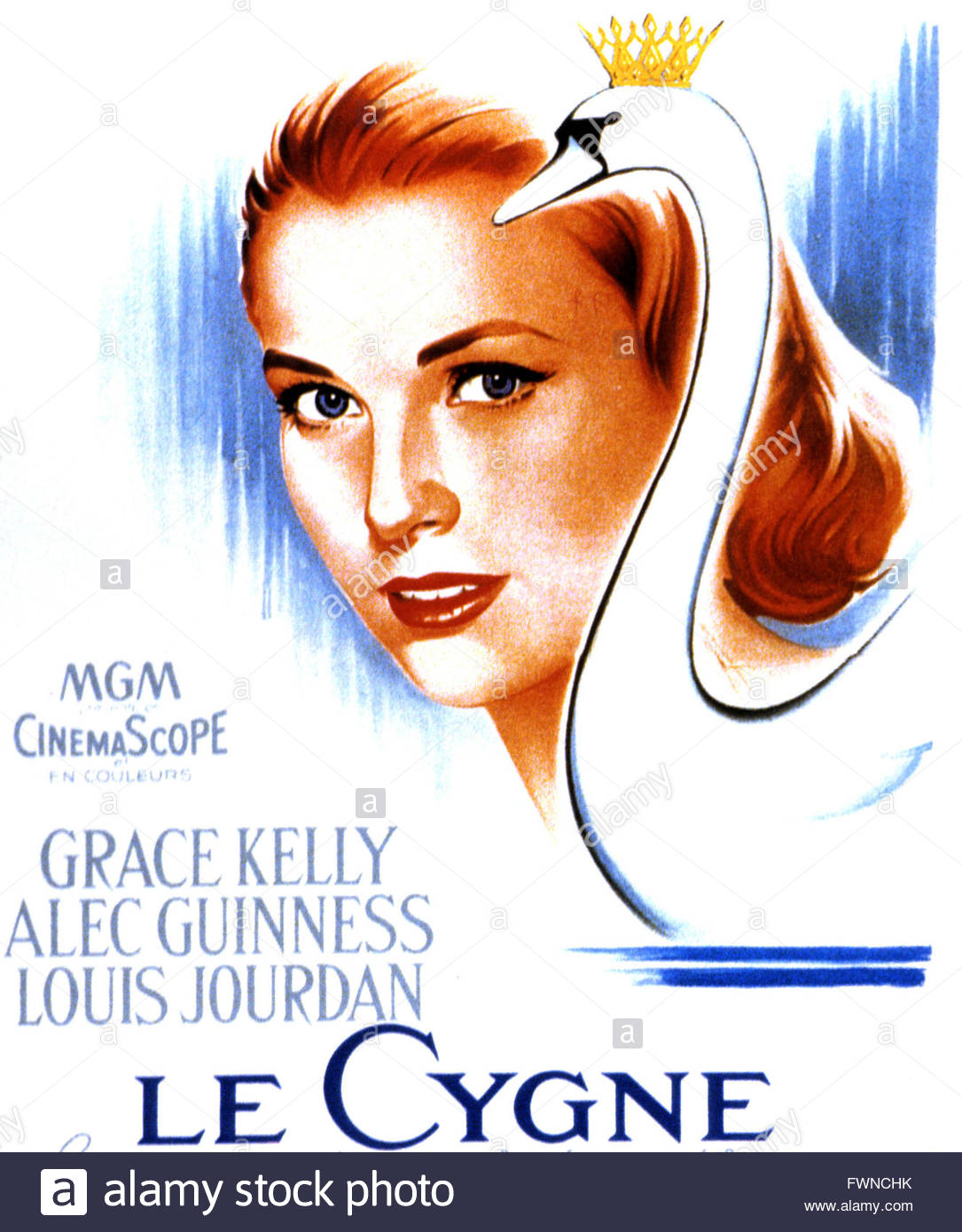 Le Cygne The Swan 1956 Real Charles Vidor Grace Kelly Alec.