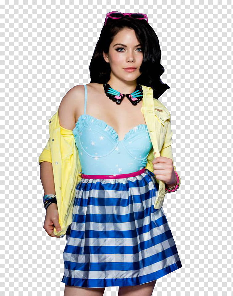 Grace Phipps, woman wearing yellow shirt and blue top with.