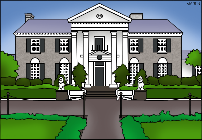 Free United States Clip Art by Phillip Martin, Famous Landmarks.