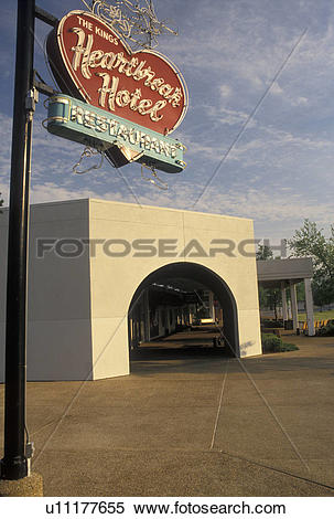 Stock Image of Graceland, Elvis, Memphis, TN, Tennessee.
