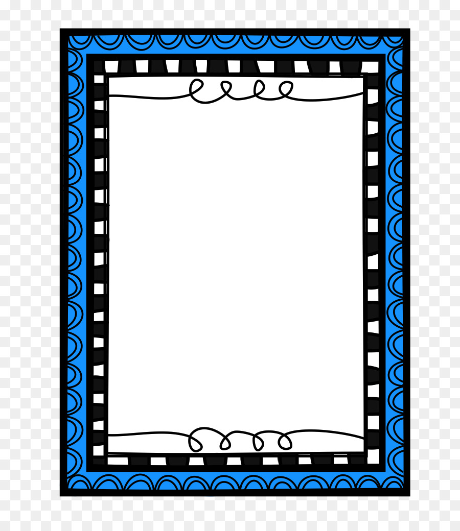 Border Black And White clipart.
