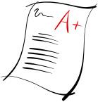 Test Grade Clipart.