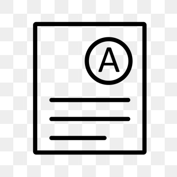 Grade Icon PNG Images.