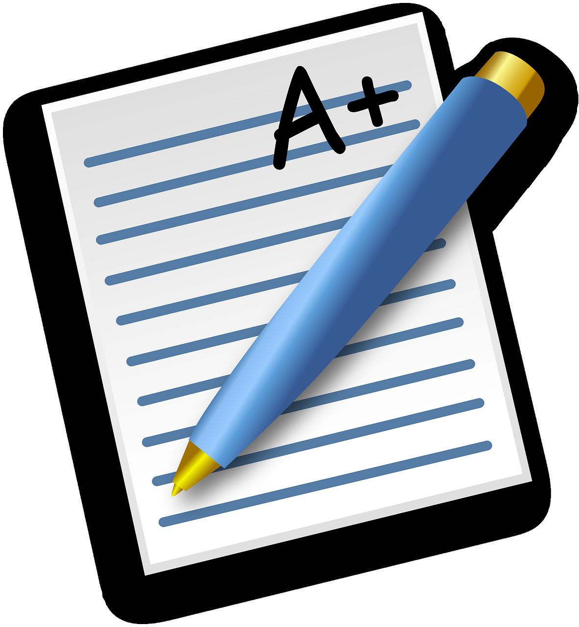 Essay clipart graded paper, Essay graded paper Transparent.
