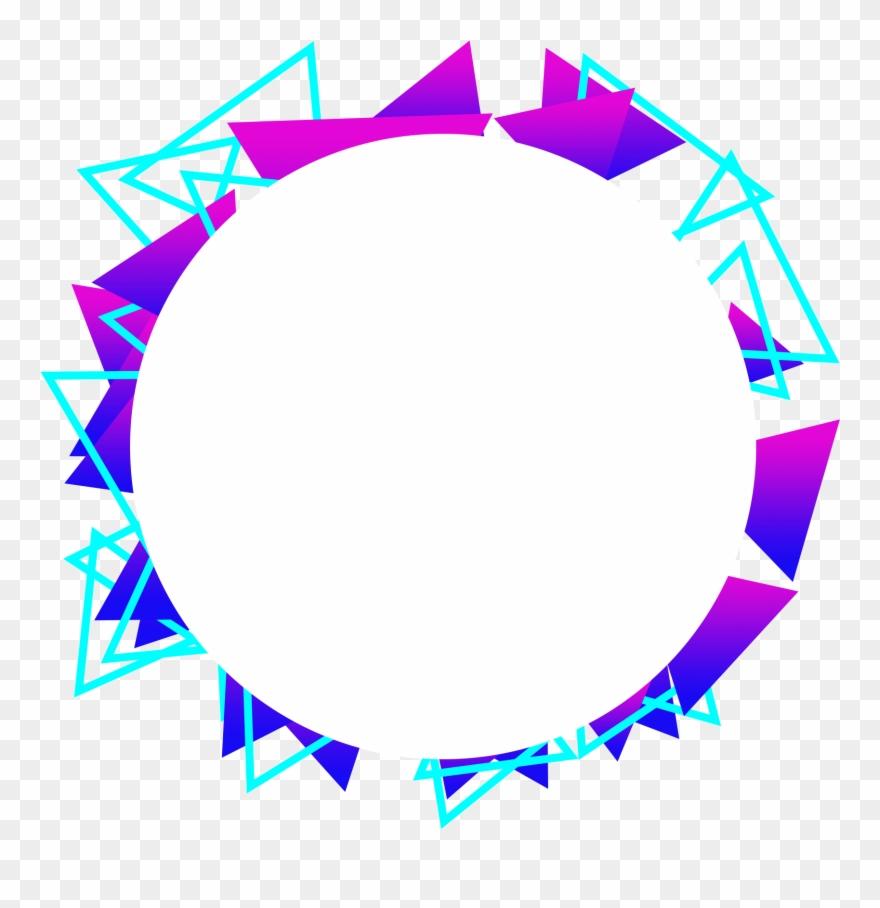 Blue Violet Gradient Decorative Commercial Minimalist.