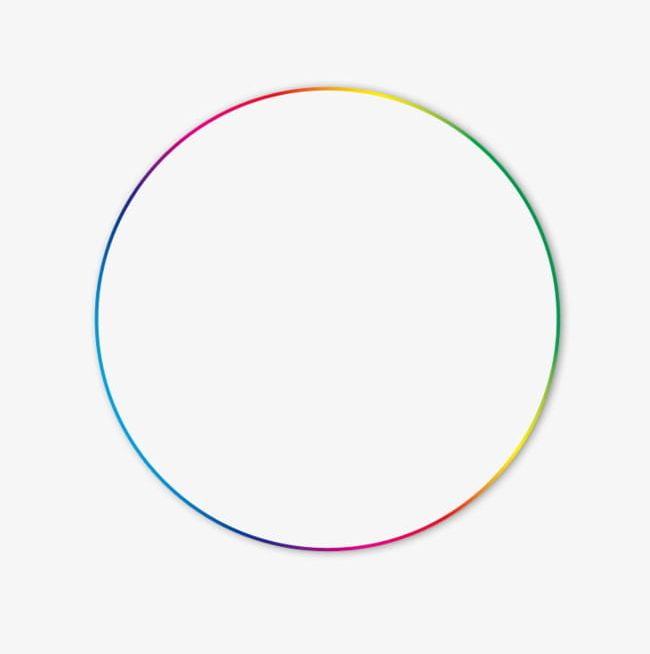 Colorful Gradient Circle PNG, Clipart, Bright, Buffer.