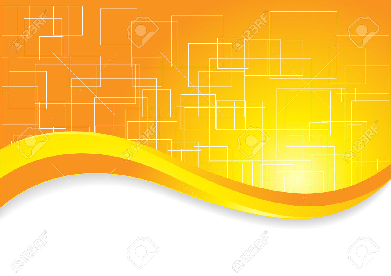 Yellow gradient clipart.