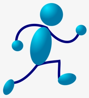 Free Runners Clip Art with No Background.