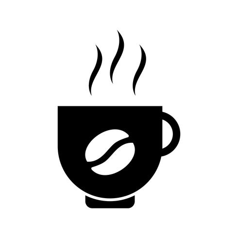 Coffee Glyph Black Icon.