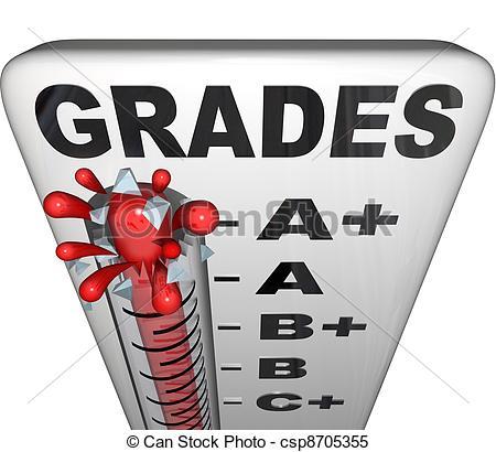 Grades Clipart.