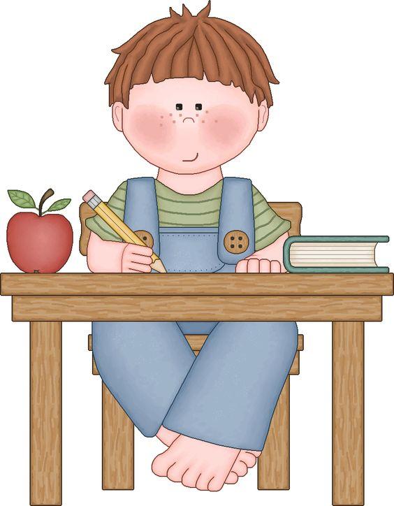 SCHOOL LITTLE BOY CLIP ART.