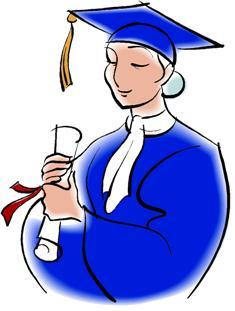 Free Graduation Clip Art.
