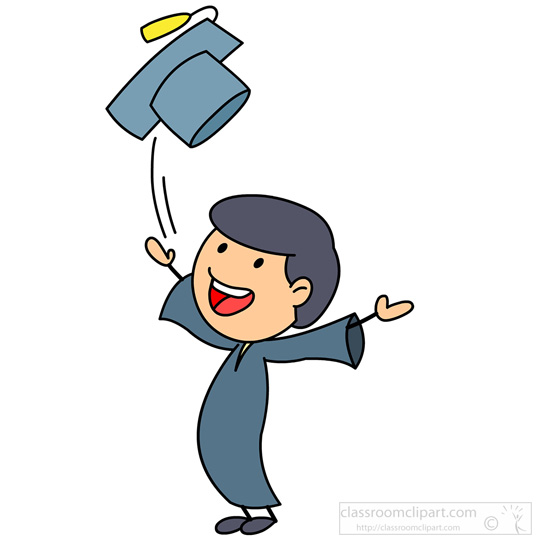 Graduated Student Clipart.
