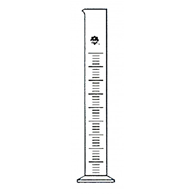 Graduated cylinder clipart #10