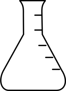 Graduated cylinder clipart #17
