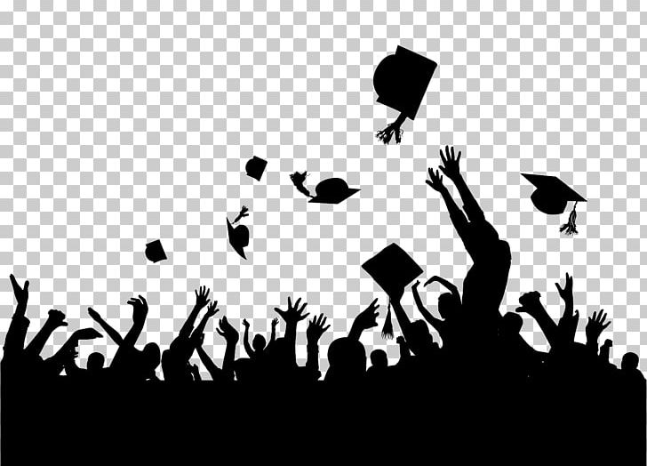 Graduation Ceremony PNG, Clipart, Academic Degree, Black, Black And.