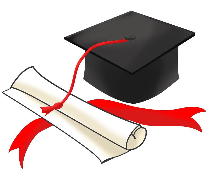 Graduation hat top graduation clip art free clipart image.