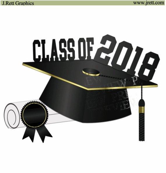 graduation 2018 clipart #6