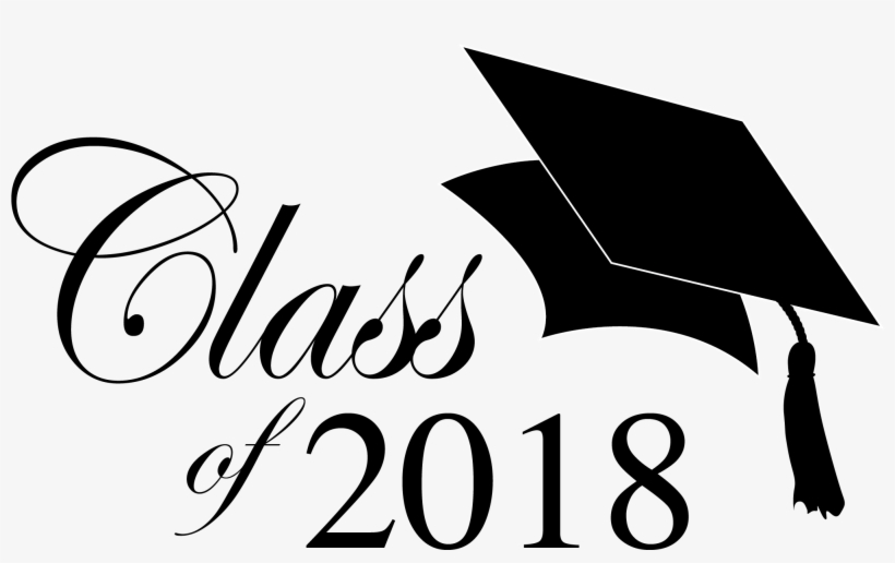 Jpg Transparent 2018 Graduation Clipart.