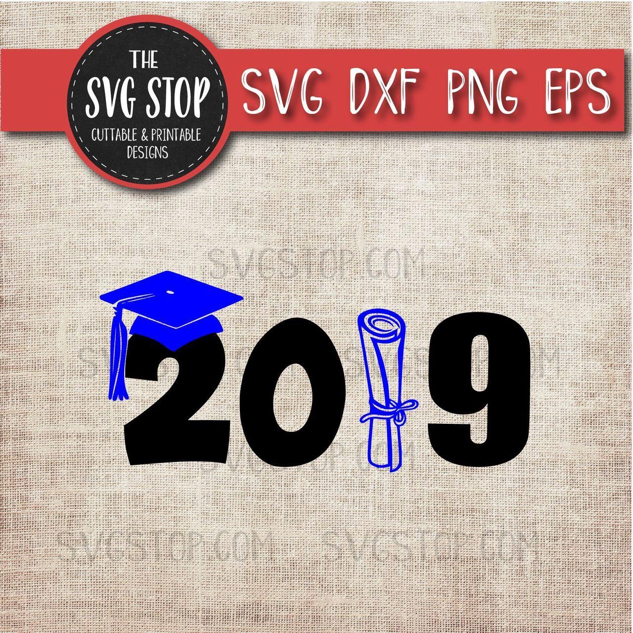 2019 Grad Cap Diploma.