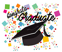 Graduation Animated Clipart.