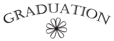 Graduation Announcements Clip Art 3.