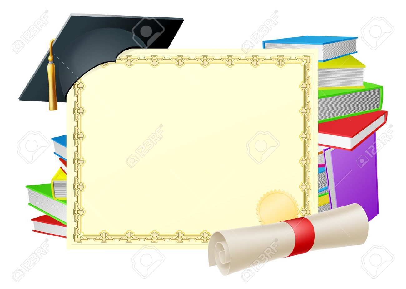 Graduation background clipart 9 » Clipart Station.