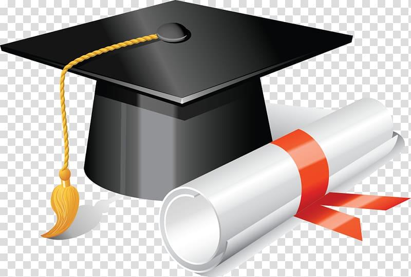 Academic hat , Square academic cap Graduation ceremony.