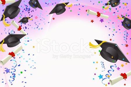 Graduation Banner Clipart Image.